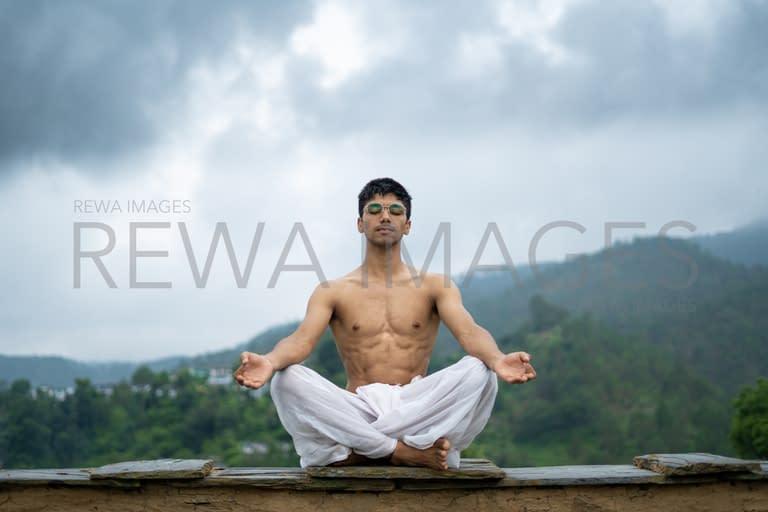 Meditation and zen energy yoga