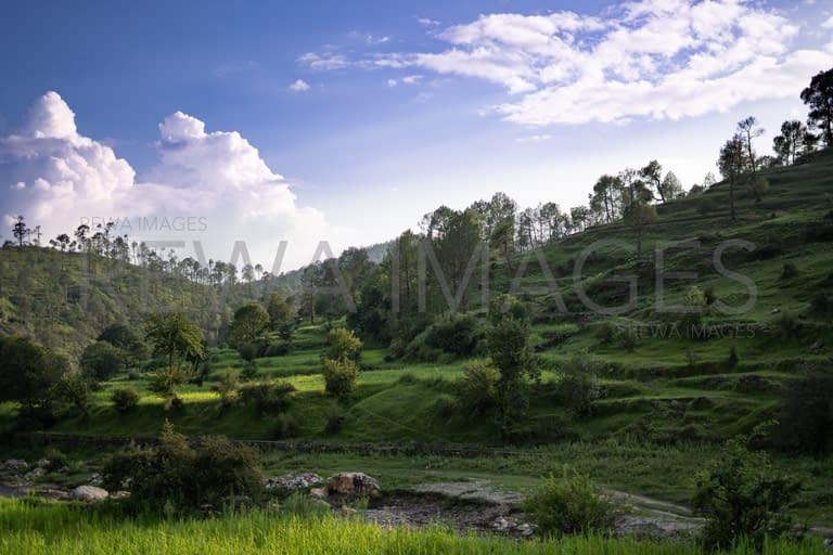 Almora landscape