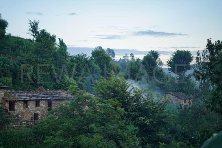 A village view