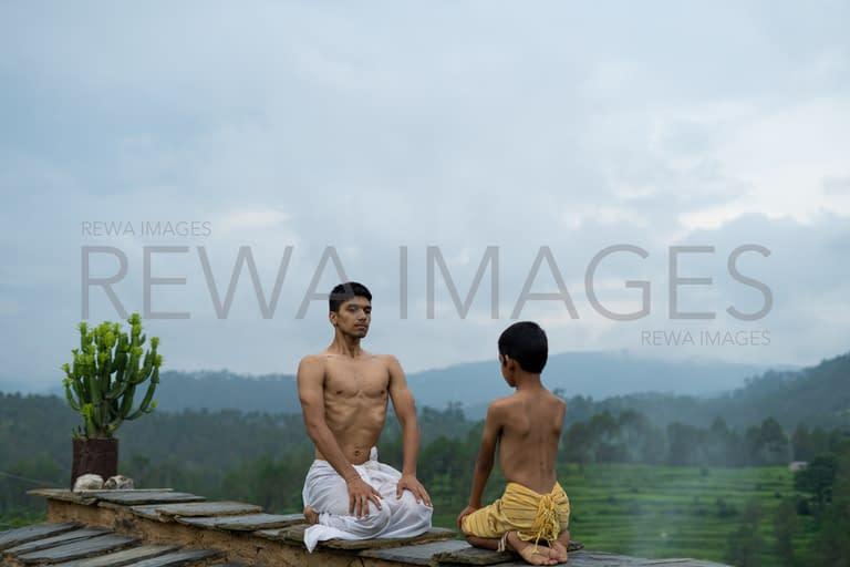 Yoga at Almora